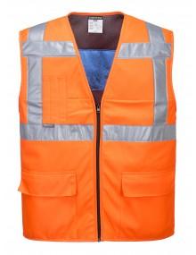 Portwest CV02 - High Vis Cooling Vest - Orange   Clothing
