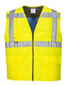 Portwest CV02 - High Vis Cooling Vest - Yellow    Clothing