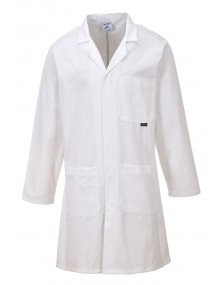 Laboratory Coat 305g 100% Cotton - White - C851 Clothing