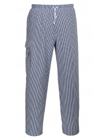 Portwest C078 - Chester Chefs Trousers    Clothing