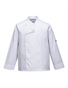 Portwest C730 - Cross-Over Chefs Jacket    Clothing