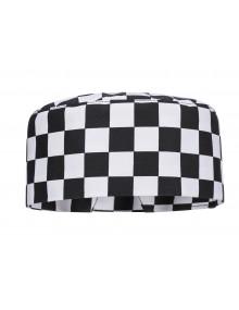 Portwest S895 - Harrow Chefs Skull Cap Chessboard    Clothing