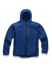 Scruffs Expedition Thermo Hooded Jacket - Blue Workwear
