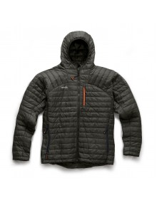 Scruffs Expedition Thermo Hooded Jacket - Charcoal Workwear