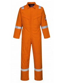 Portwest FR52 - Padded Anti-Static Coverall - Orange Clothing