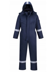Portwest FR53 - FR Anti-Static Winter Coverall – Navy