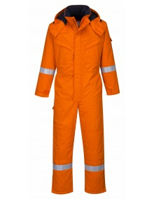 Portwest FR53 - FR Anti-Static Winter Coverall – Orange