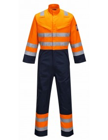 MV29 - Modaflame RIS Navy/Orange Coverall - Orange/Navy
