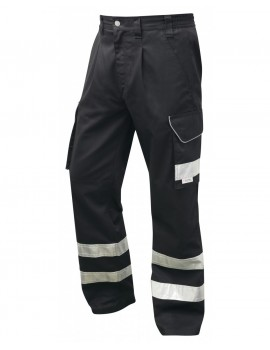Leo Ilfracombe Cargo Trouser - Black Clothing