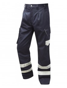 Leo Ilfracombe Cargo Trouser - Navy Clothing