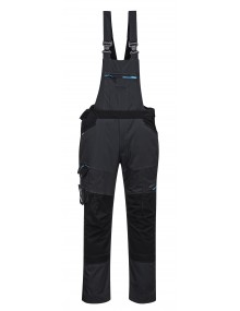 Portwest T704 - WX3 Bib and Brace - Grey Clothing