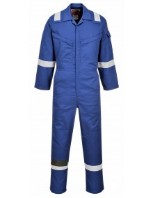 FR21 - Flame Resistant Super Light Weight Anti-Static Coverall – Royal Blue Clothing