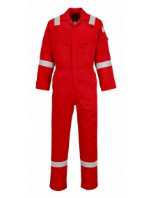 FR21 - Flame Resistant Super Light Weight Anti-Static Coverall – Red Clothing