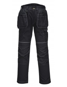 Portwest T602 - PW3 Holster Work Trouser - Black Clothing