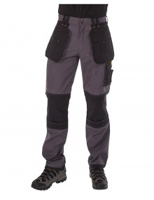 Regatta Workline Holster Trousers - Iron/Black Clothing TRJ336