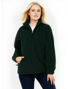 Uneek UC602 Premium Unisex 1/4 Zip Micro Fleece