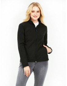 Uneek UC613 Ladies Classic Full Zip Soft Shell Jacket Clothing