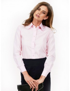 Uneek UC711 Ladies Poplin Full Sleeve Shirt Clothing