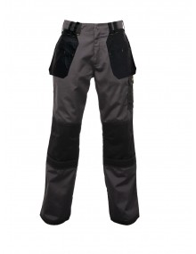 Regatta Hardwear Holster Trousers Iron/Black TRJ335 Clothing