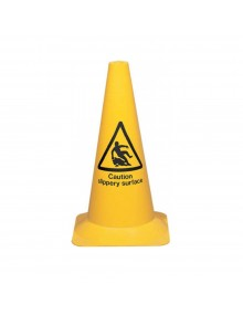 Caution Slippery Surface Cone 500mm Site Products