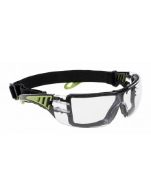 Portwest PS11 - Tech Look Plus Spectacle - Clear Eye & Face Protection
