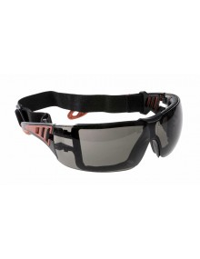 Portwest PS11 - Tech Look Plus Spectacle - Smoke Eye & Face Protection
