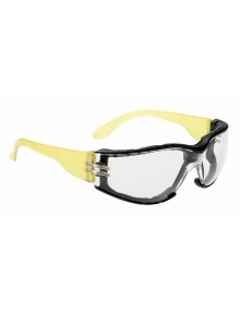Portwest PS32 - Wrap Around Plus Spectacle - Clear Eye & Face Protection