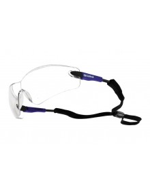 Bolle Viper Safety Glasses - Blue/Black Arms  Eye & Face Protection