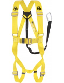P+P MEWP Harness & Integral 1.4m ADJ Restraint Lanyard Fall Arrest