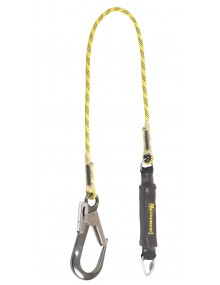 P+P 90294 Rope Lanyard Fall Arrest 1.75m Chunkie with Scaff Hook Fall Arrest